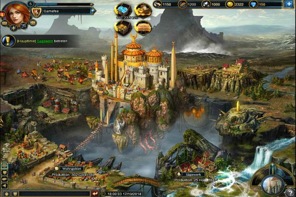 Blood Throne Online Aufbaustrategiespiel