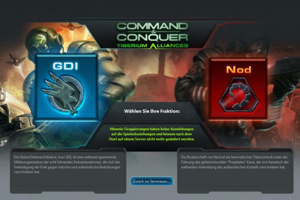 Commend & Conquer Tiberium Alliances