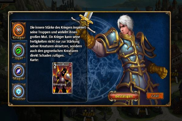 Kings and Legends Online-Strategiespiel